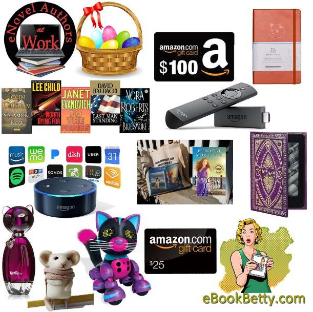 A mega easter giveaway and awesome kindle deals fellow bookworm you wont believe what i have for you today its a mega giveaway with awesome prizes such as an amazon echo dot and a 100 gift card negle Image collections